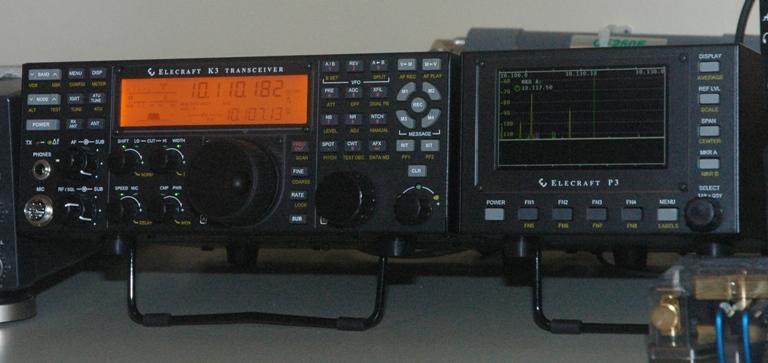 Elecraft K3 Transceiver and P3 Panadapter | Amateur Radio
